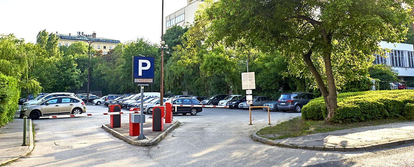 D1 Fotóstúdió fizetős parkoló