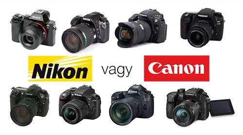 Nikon vagy canon